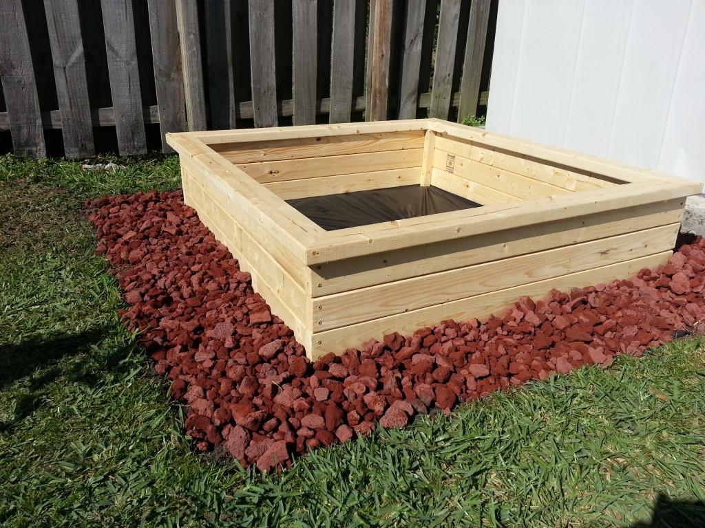 Make your own raised garden bed