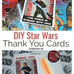 DIY Star Wars Thank You Cards