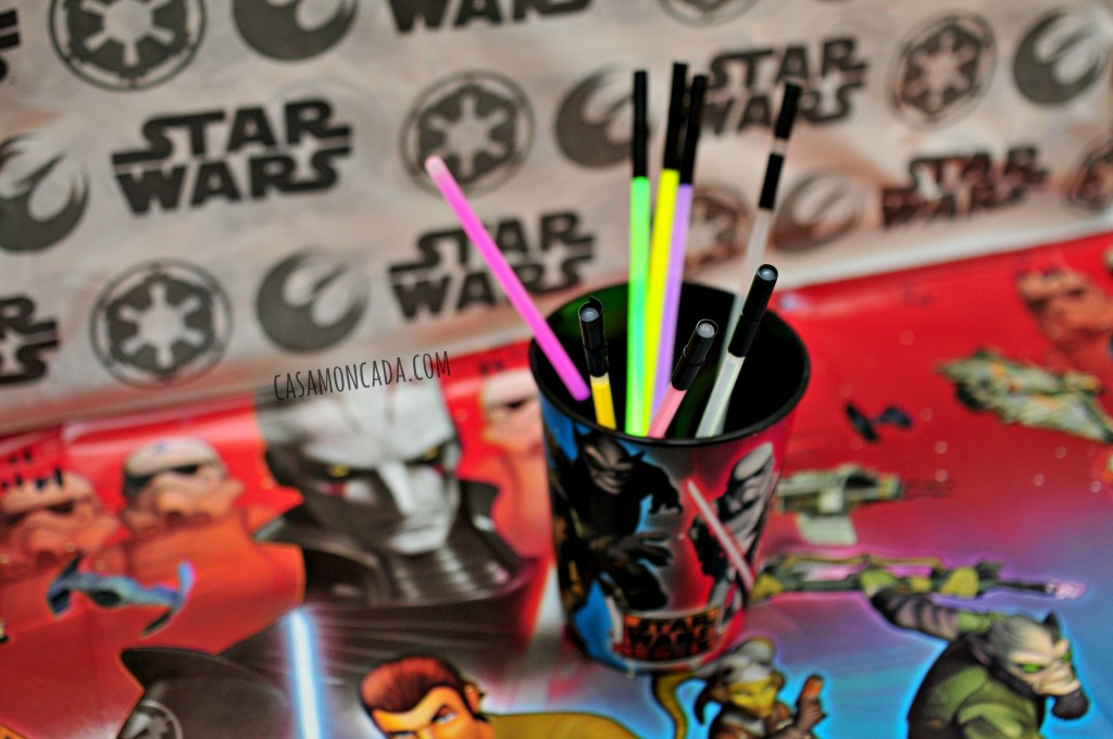 Star Wars Rebels Thank you Cards
