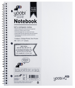 yoobi notebook