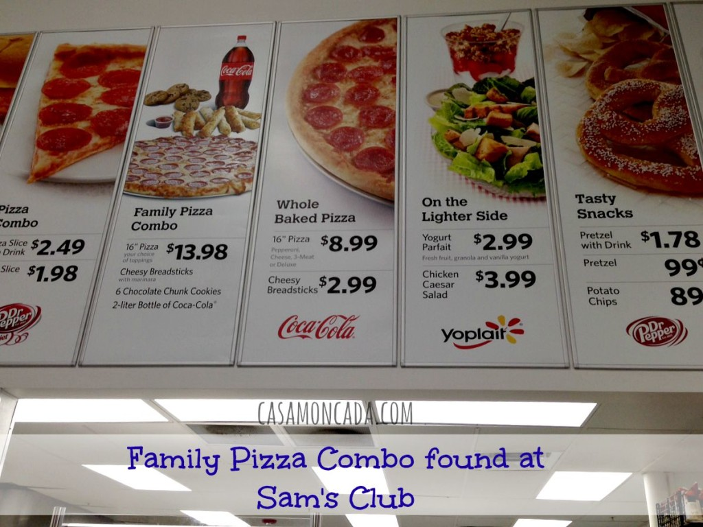 family pizza combo 1