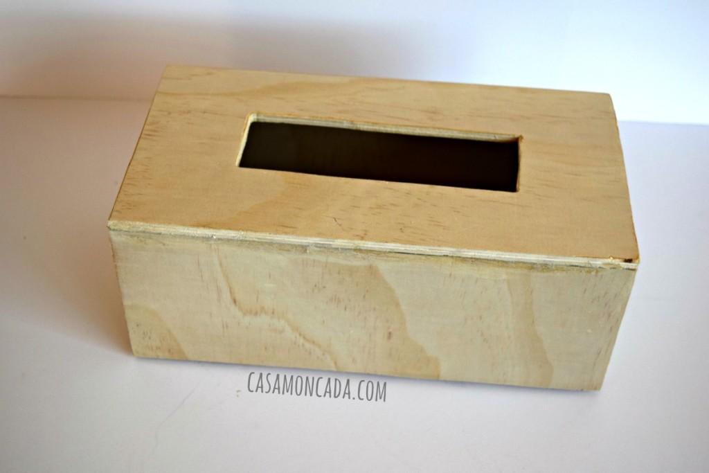 diy wood tissue cover box7