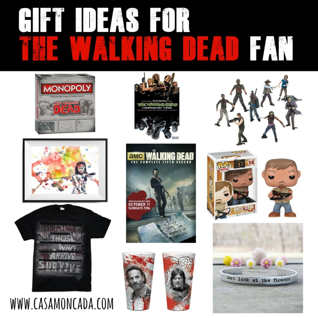 the walking dead fan gift ideas