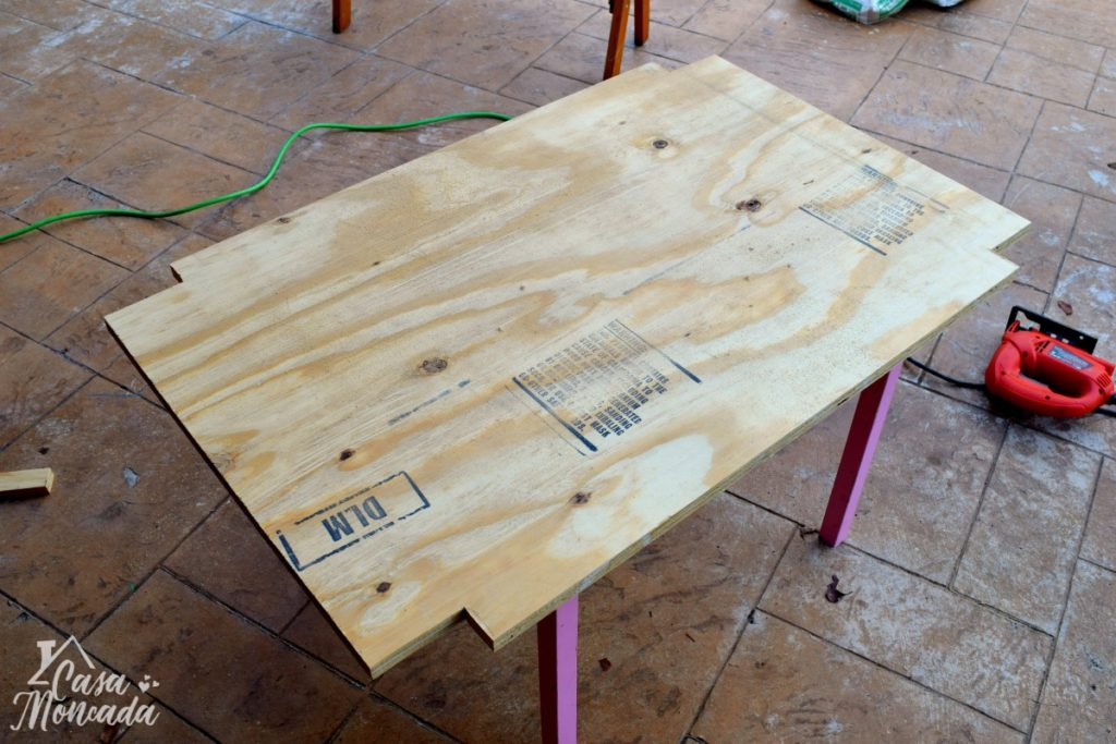 raised sandbox1 - How to Build a Raised Sandbox by Florida lifestyle blogger Casa Moncada