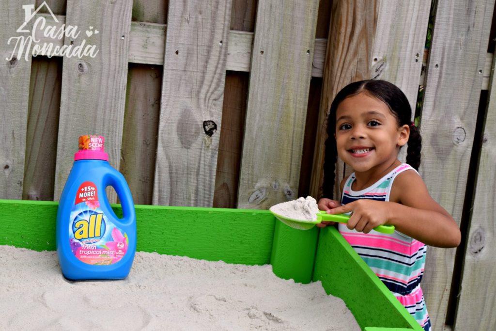raised sandbox11 - How to Build a Raised Sandbox by Florida lifestyle blogger Casa Moncada
