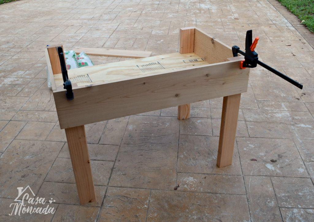 raised sandbox5 - How to Build a Raised Sandbox by Florida lifestyle blogger Casa Moncada