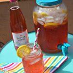 Enjoy a refreshing Pink Moscato Lemonade