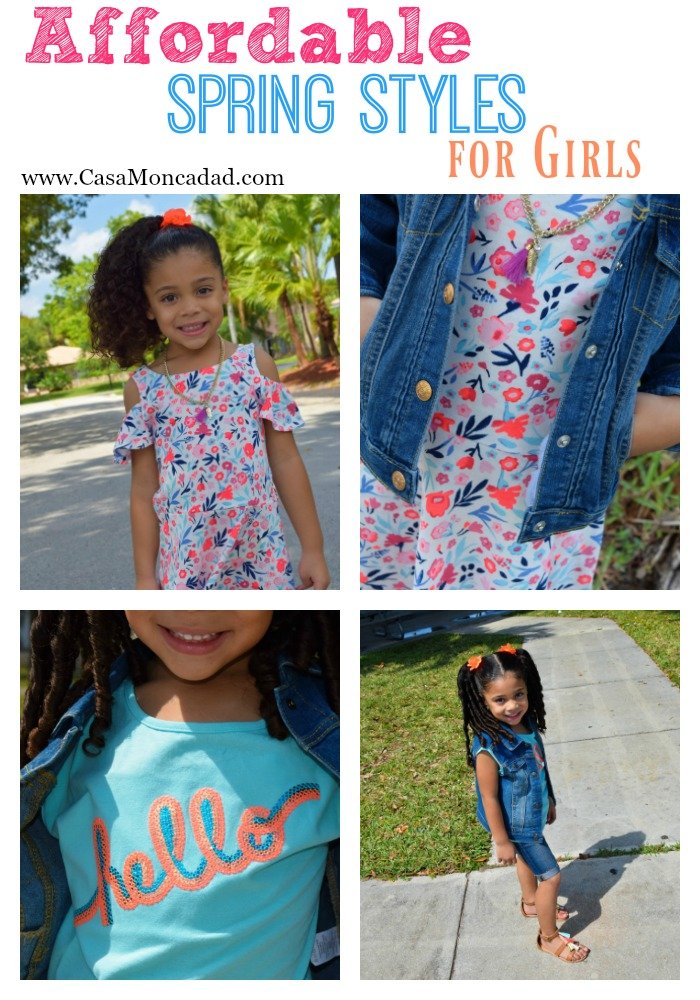 Affordable Spring Styles for Girls