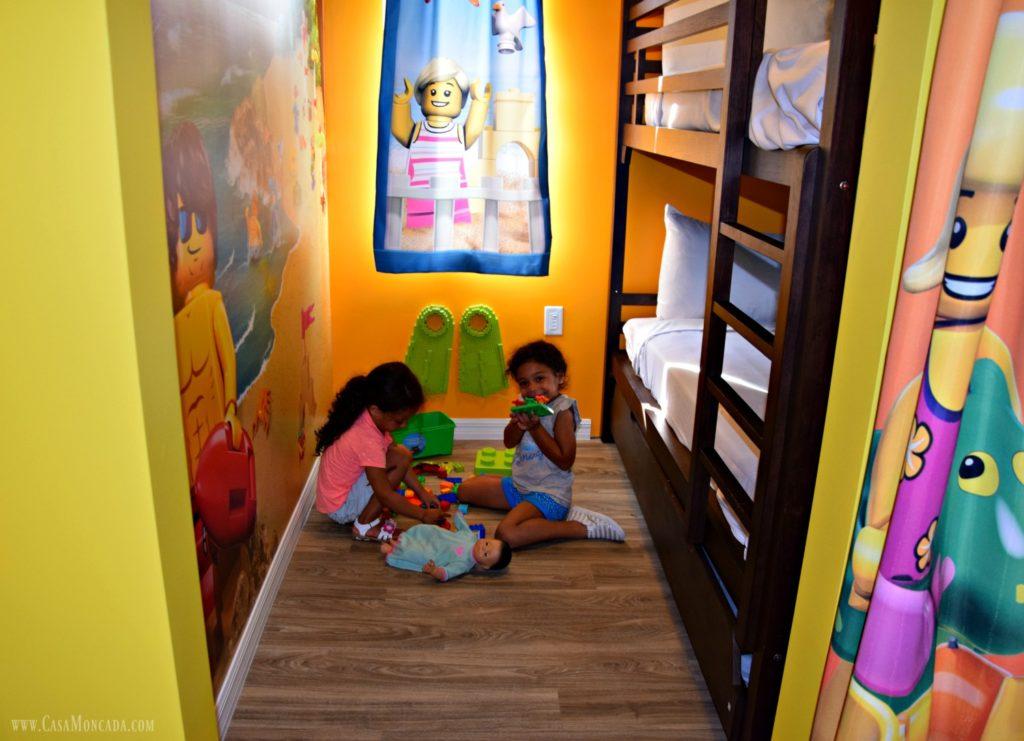 legoland beach retreat_kids room