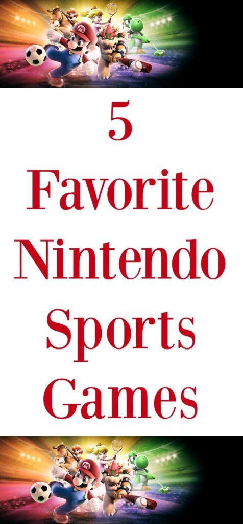 Five favorite Nintendo sports games