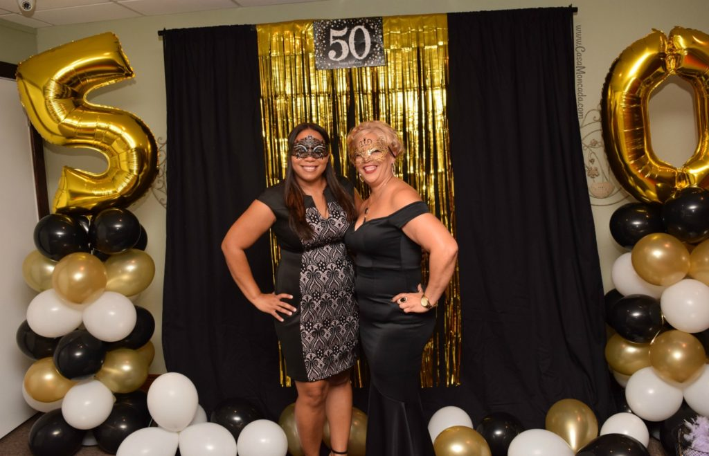 50th birthday photo booth