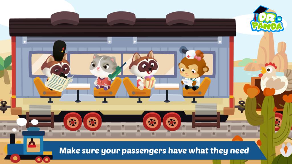 dr panda train screenshots