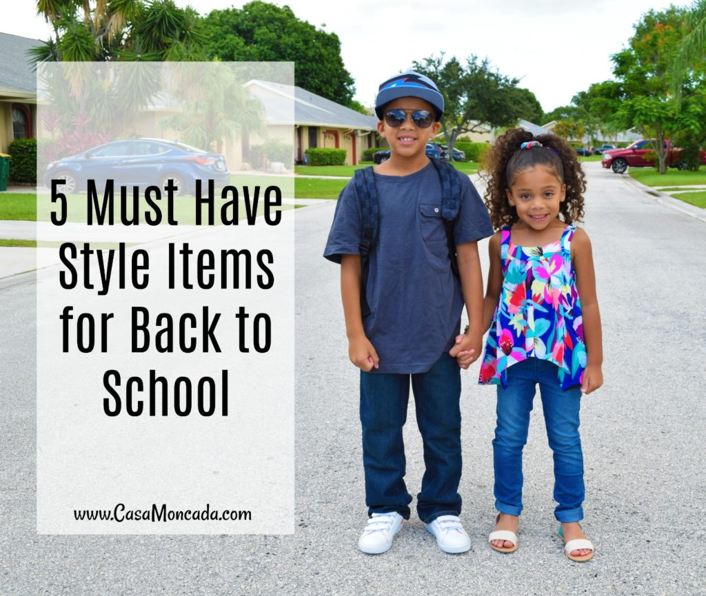 5 Must Have Style Items for Back to School