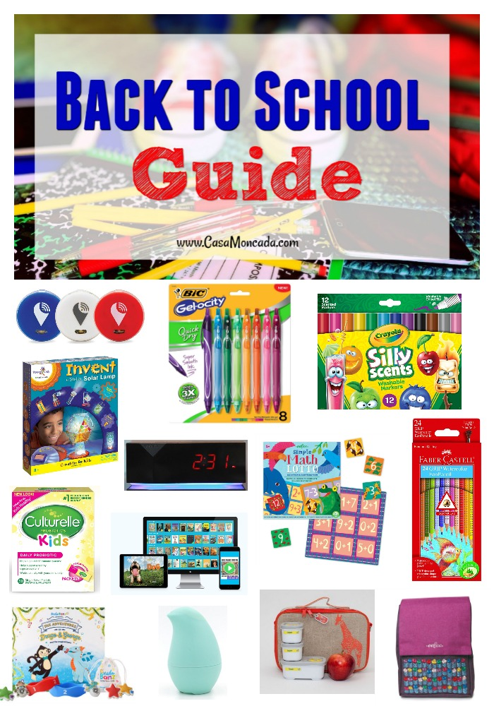 Back to school guide for school age kids