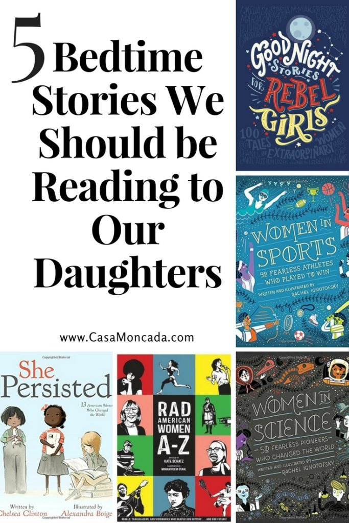 Bedtime Stories We Should be Reading to Our Daughters