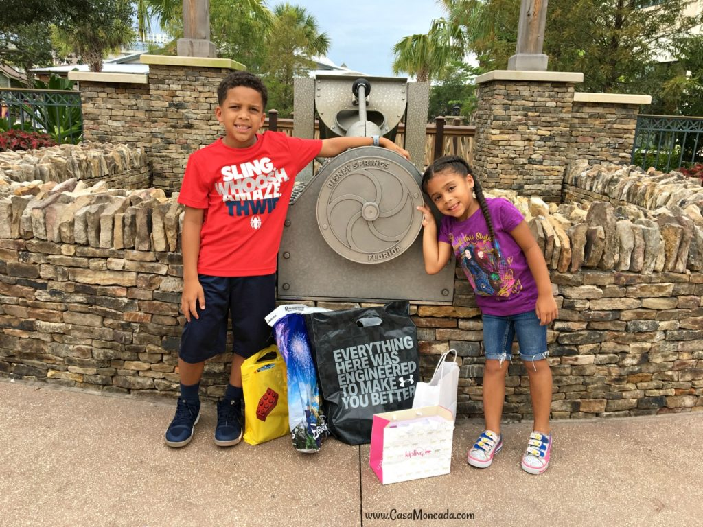 Disney Springs Back to school shopping