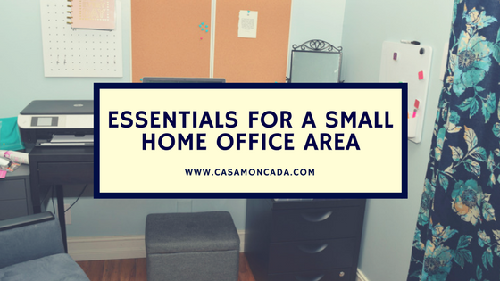 Essentials for a Small Office Area