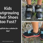 Kids outgrowing their shoes too fast