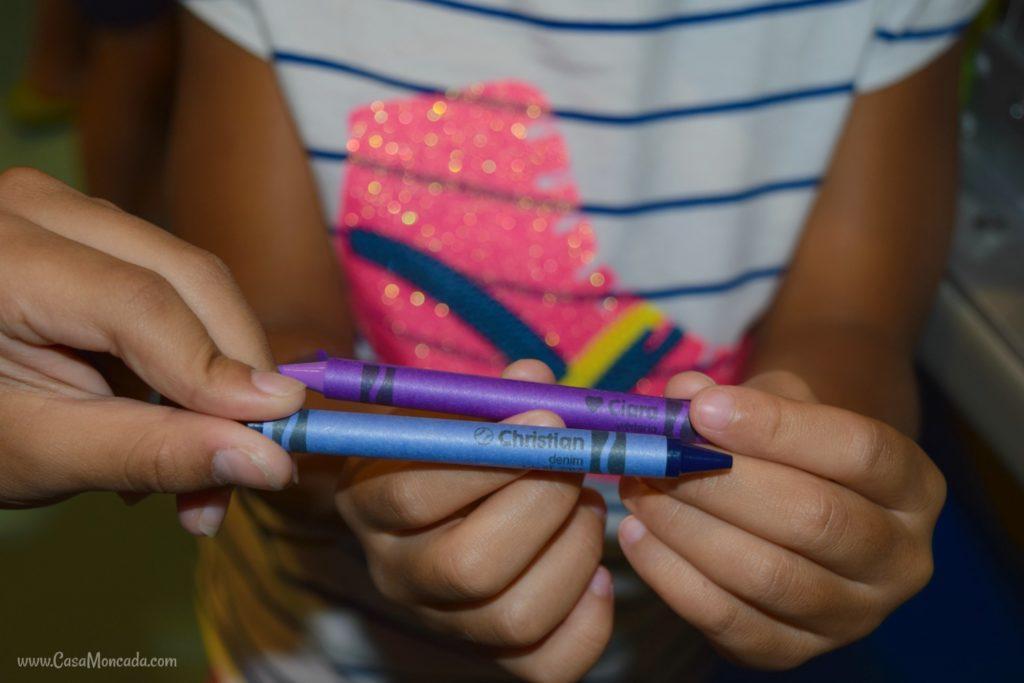 Make your own Crayola crayons