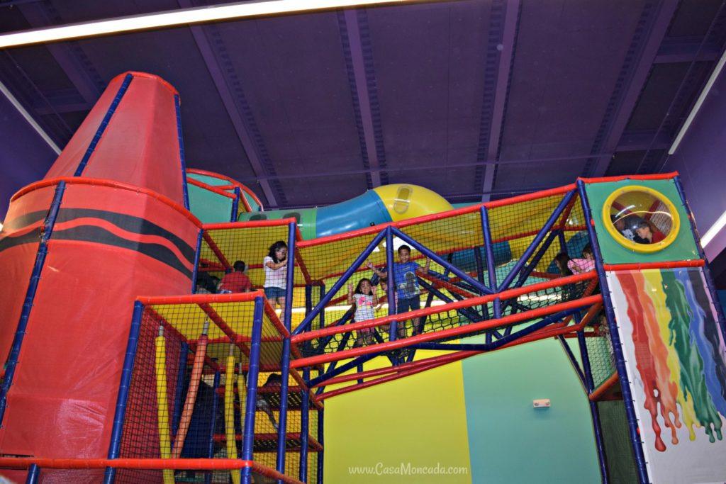 Crayola experience playground