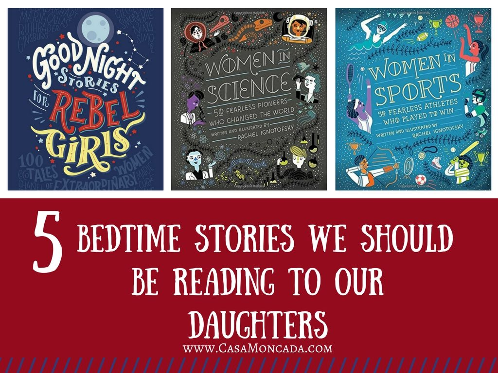 5 Bedtime stories we should be reading to our daughters