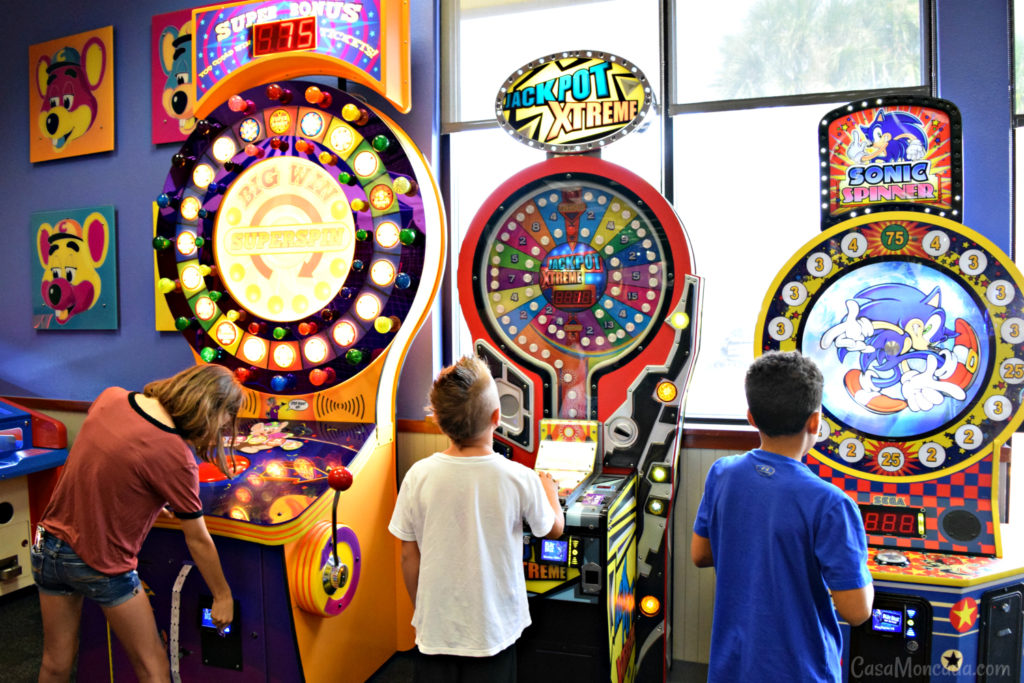 Chuck e. cheese's games