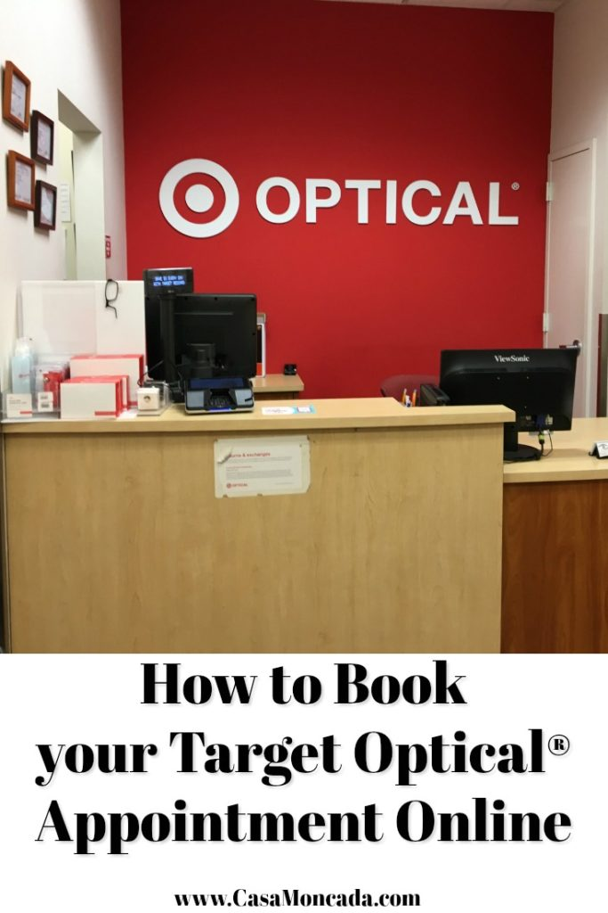 How to Book yourTarget Optical® Appointment Online