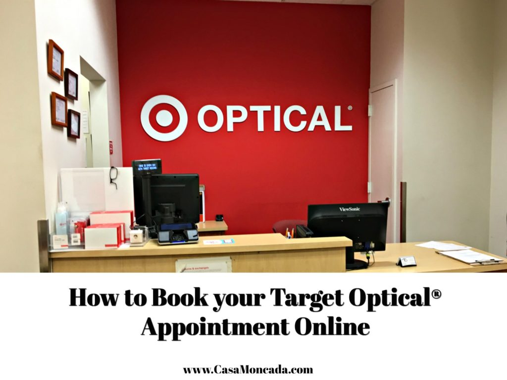 How to book your Target Optical appointment online