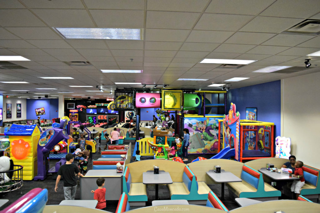 Chuck E. Cheese's Boca Raton location
