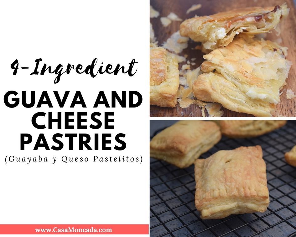 Guayaba y queso paselitos