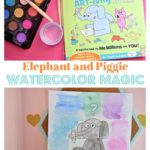 Elephant and Piggie Watercolor magic activity