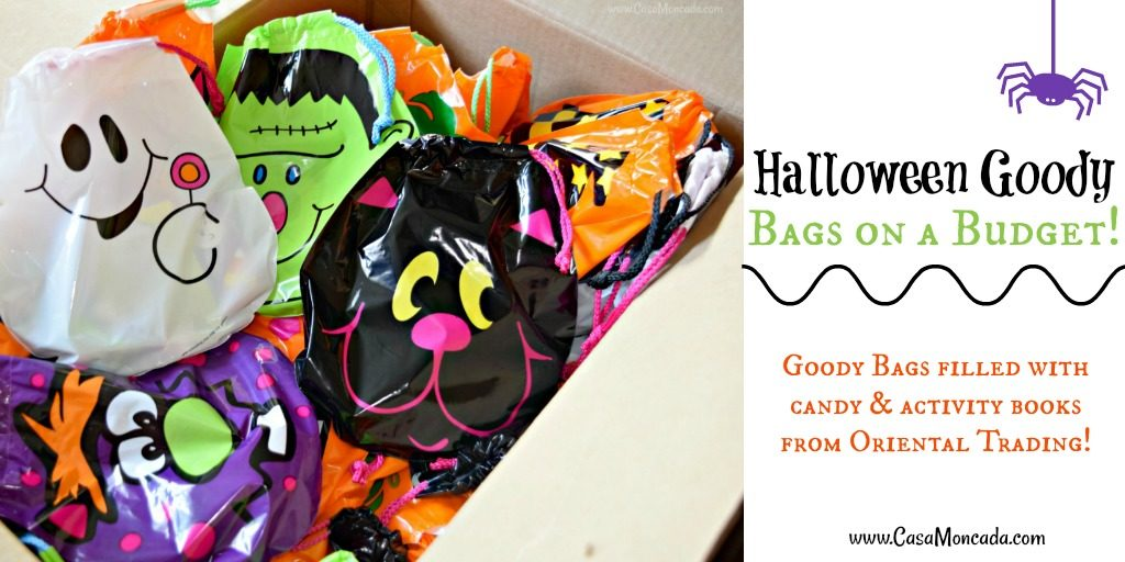 Halloween Goody Bags on a budget