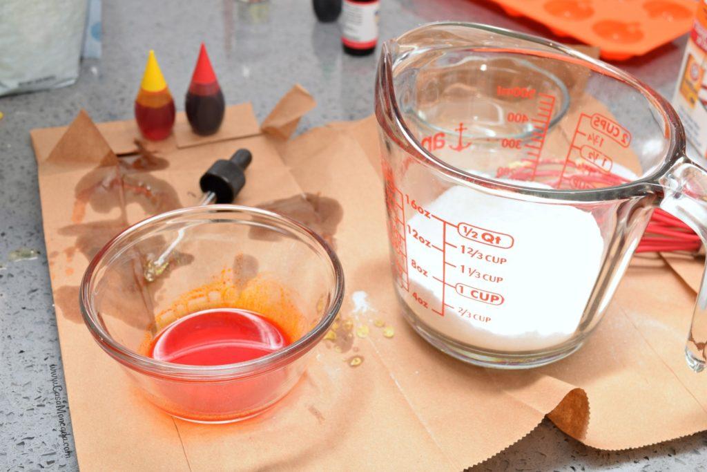 bath bomb food coloring