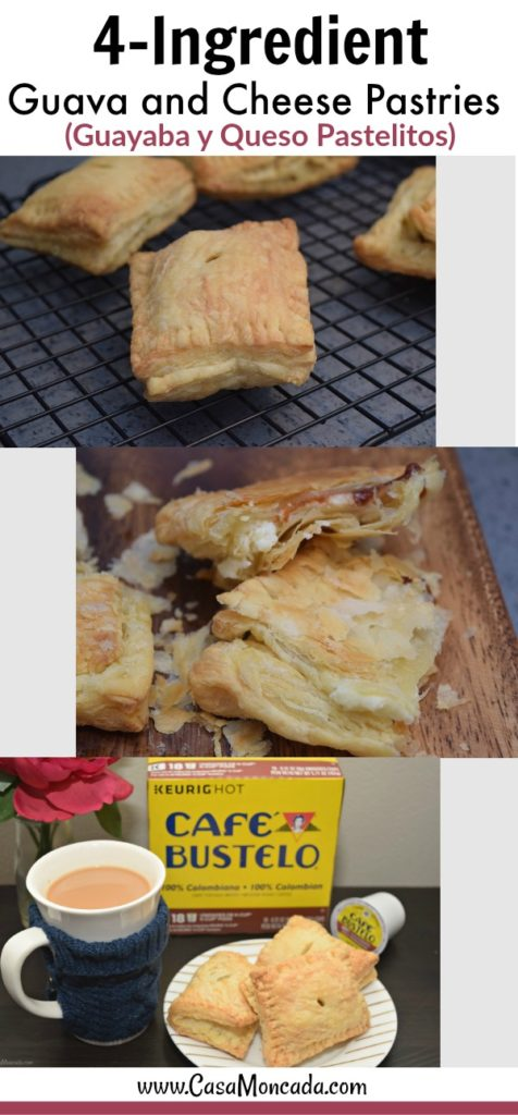 guava and cheese pastries