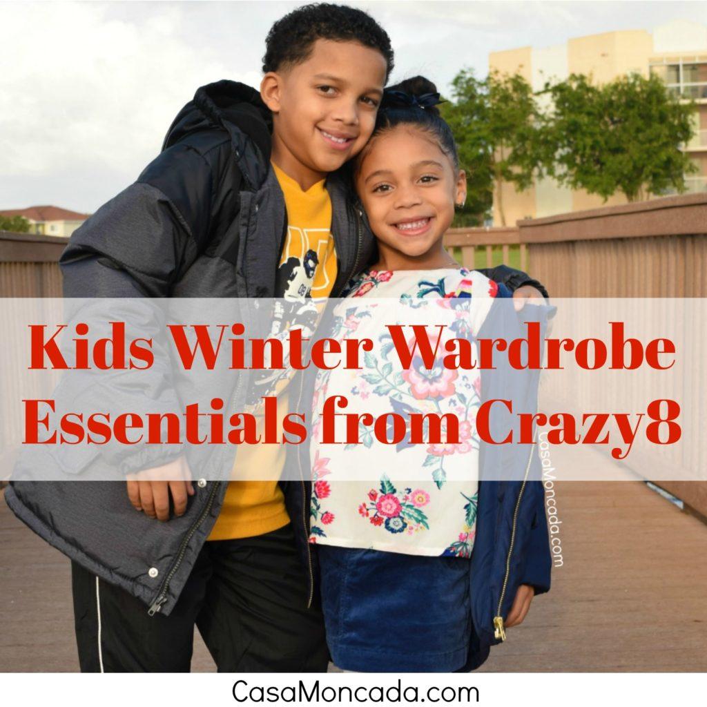 Kids winter wardrobe essentials from Crazy8