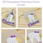DIY Personalized Tooth Fairy Pouch for kids