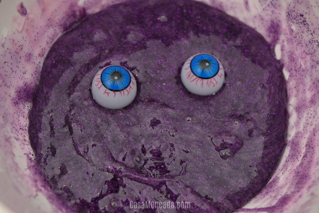 purple monster slime