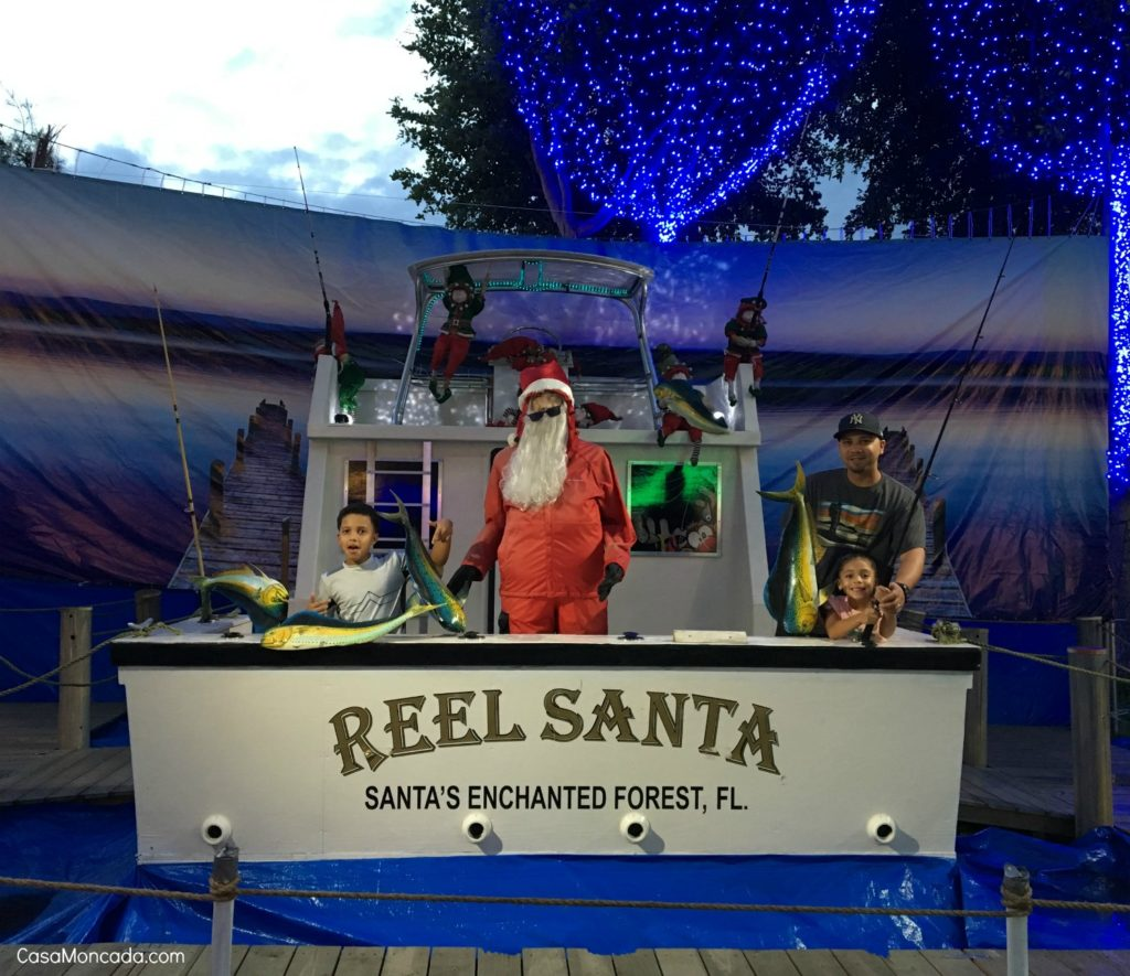 reel santa santas enchanted forest