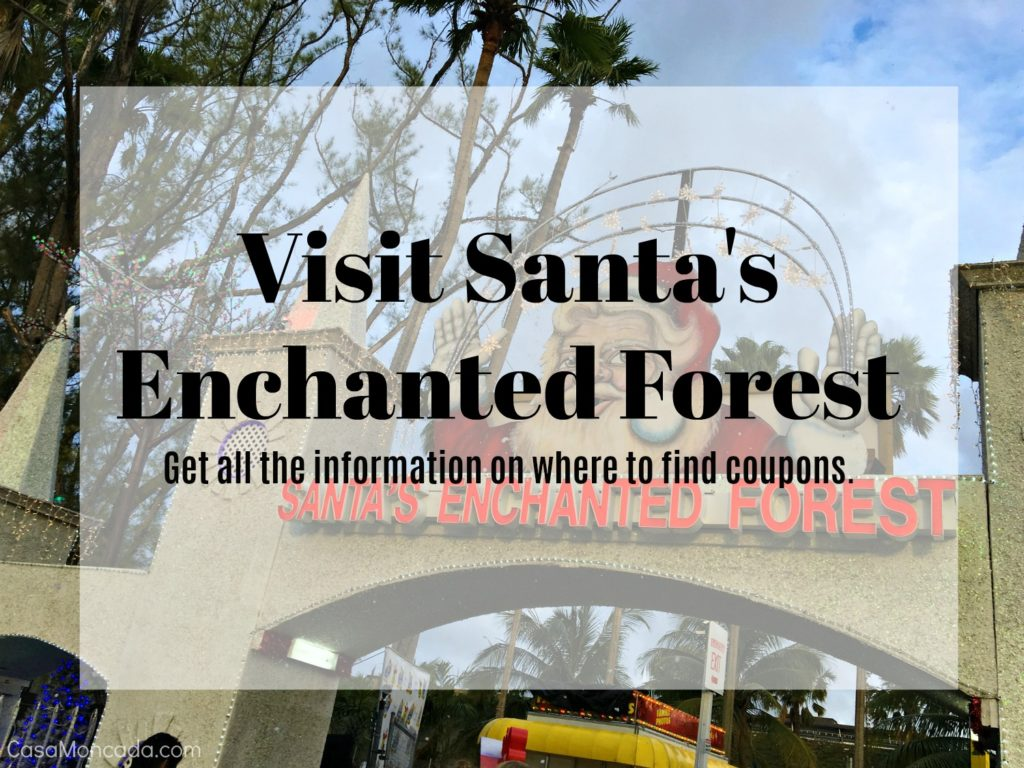 visit santa's enchanted forest