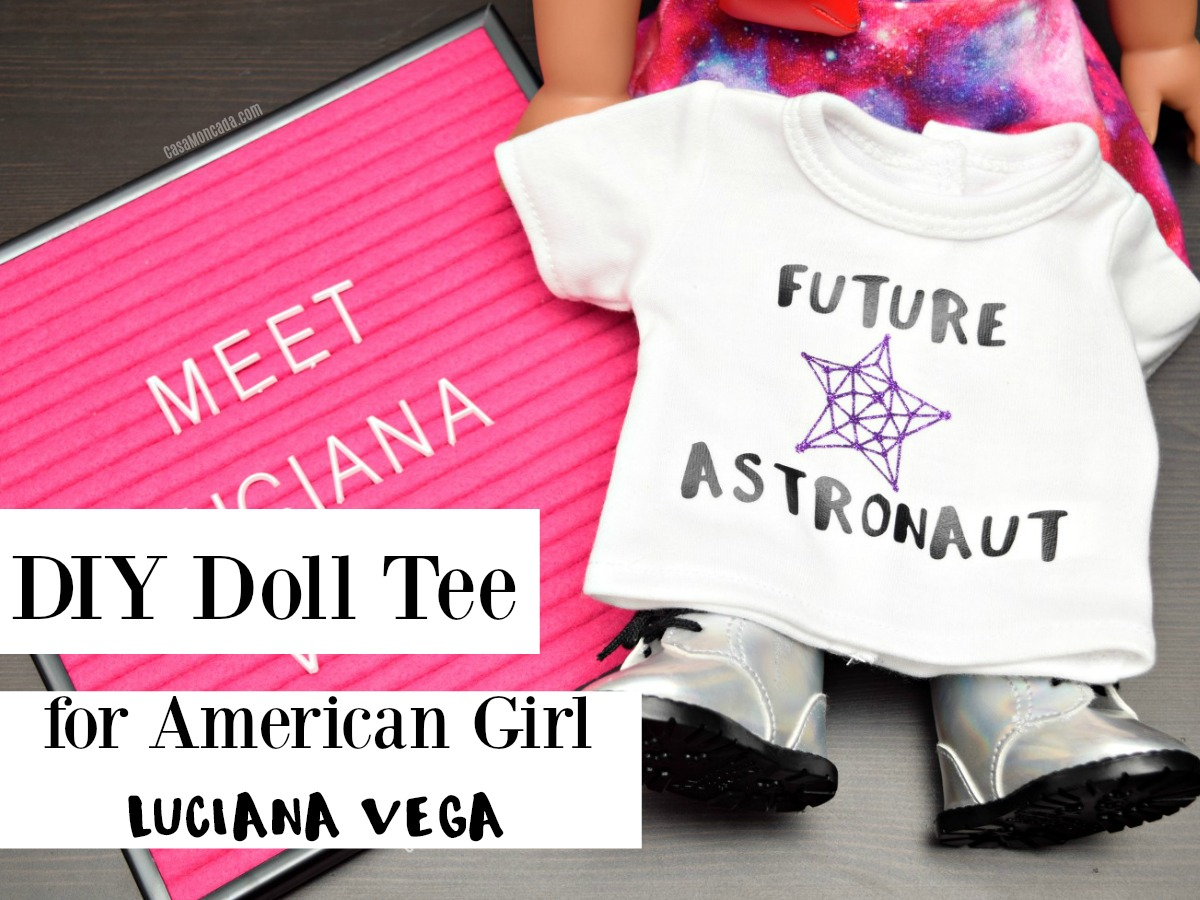 Make your own Doll tee for Luciana Vega
