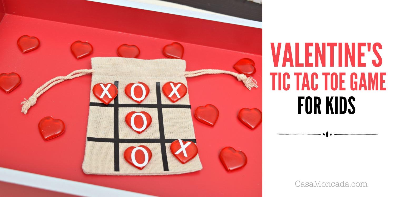 Non-candy valentine kids craft