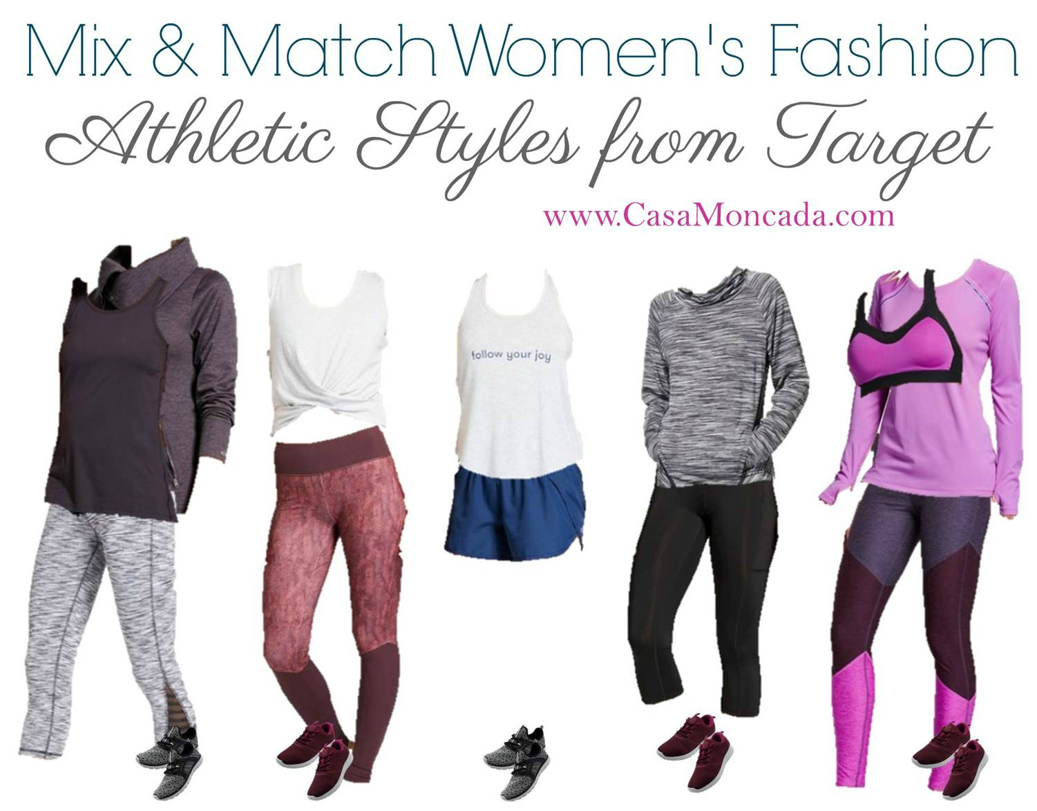 affordable workout clothes from Target