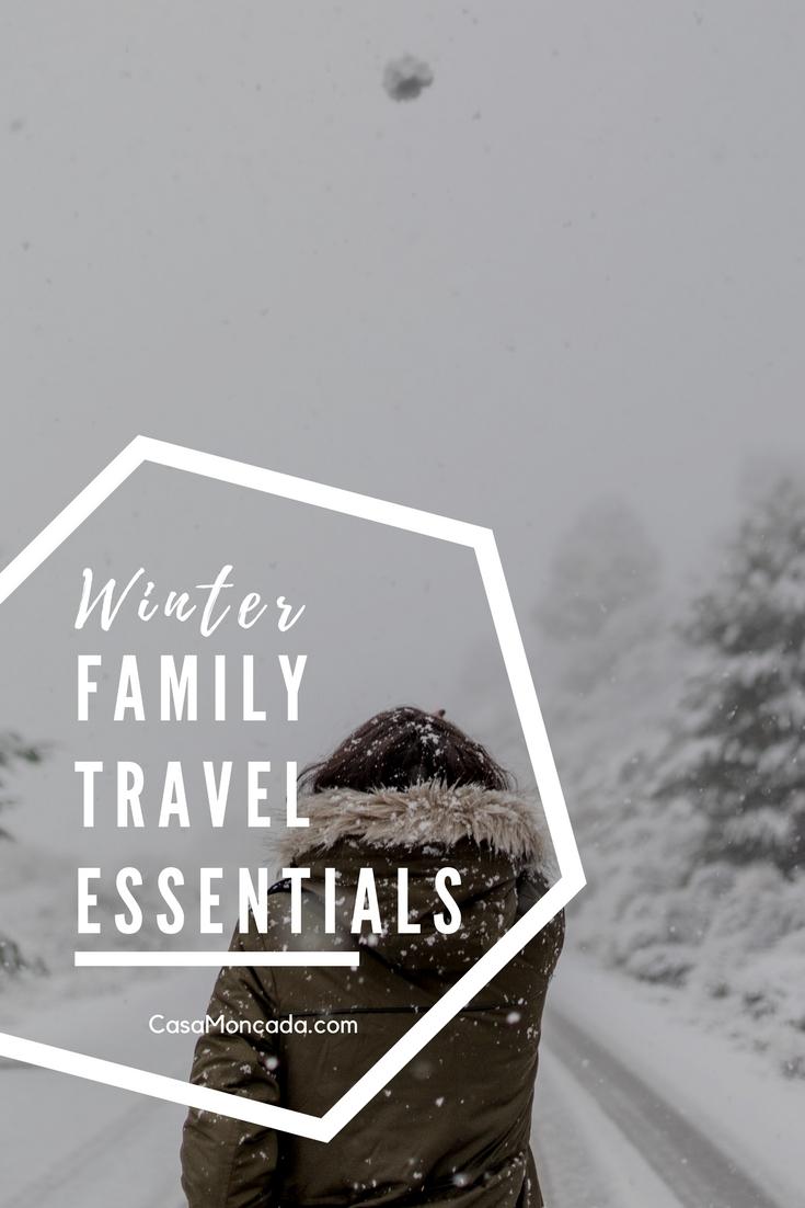 winter family travel essentials