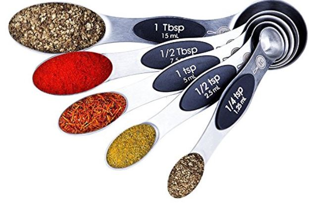 integrity chef measuring spoons