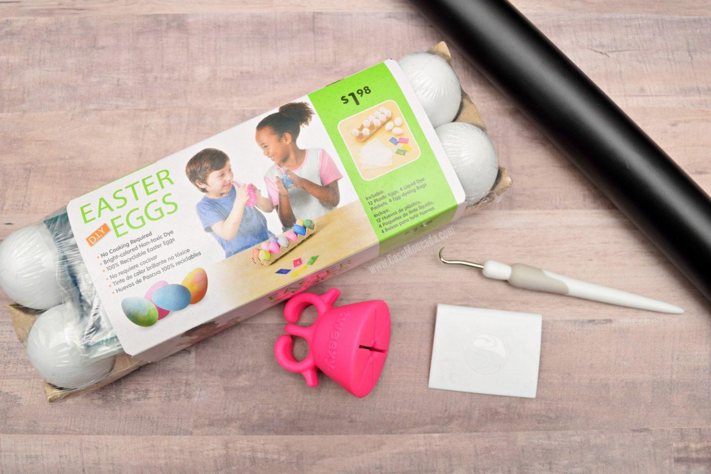 DIY Easter Egg materials