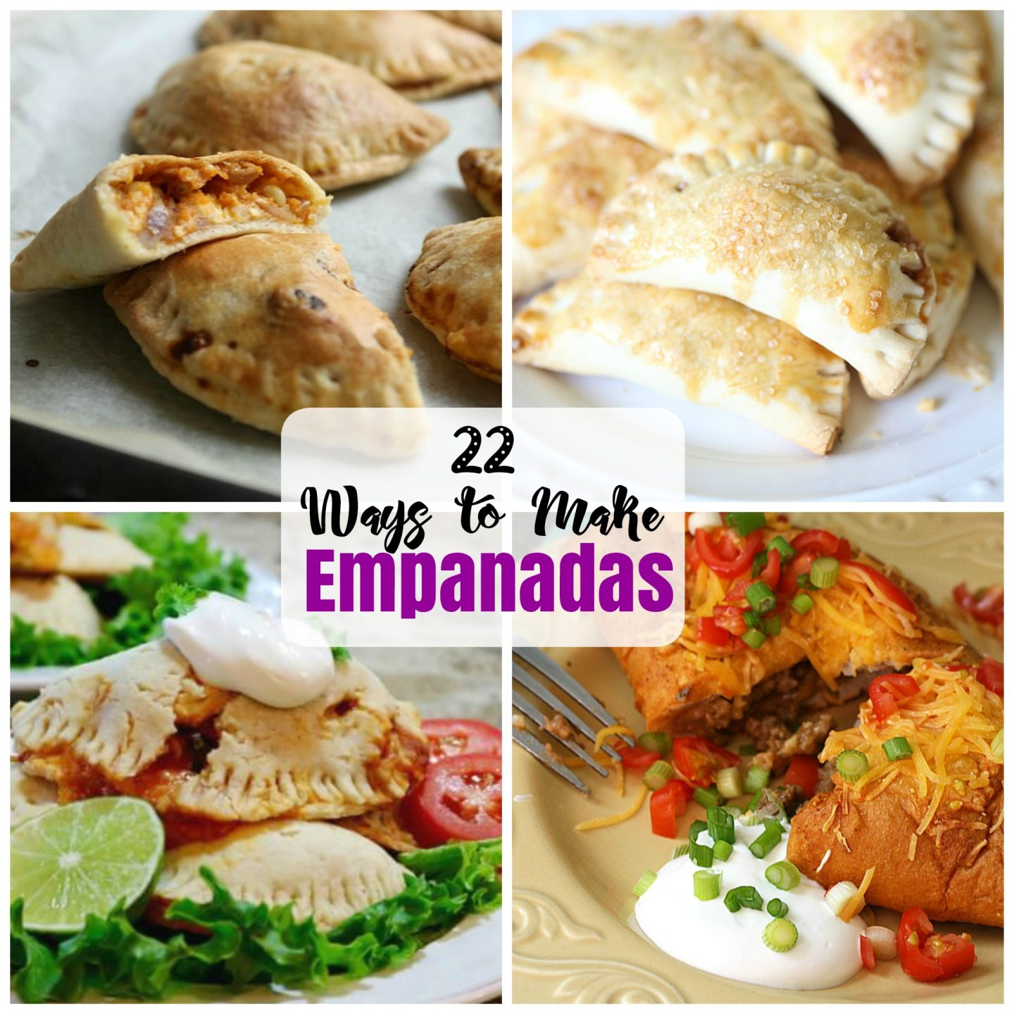 22 recipes for empanadas