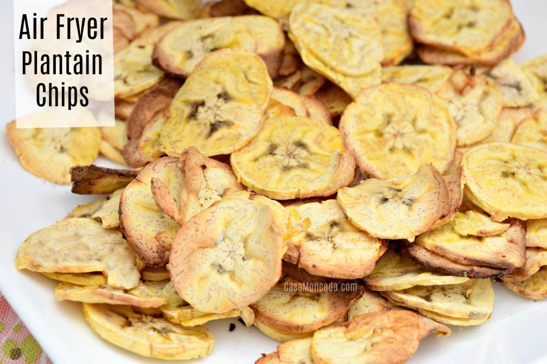 Air Fryer plantain recipe