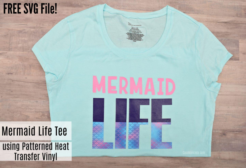 Free Mermaid Life SVG file