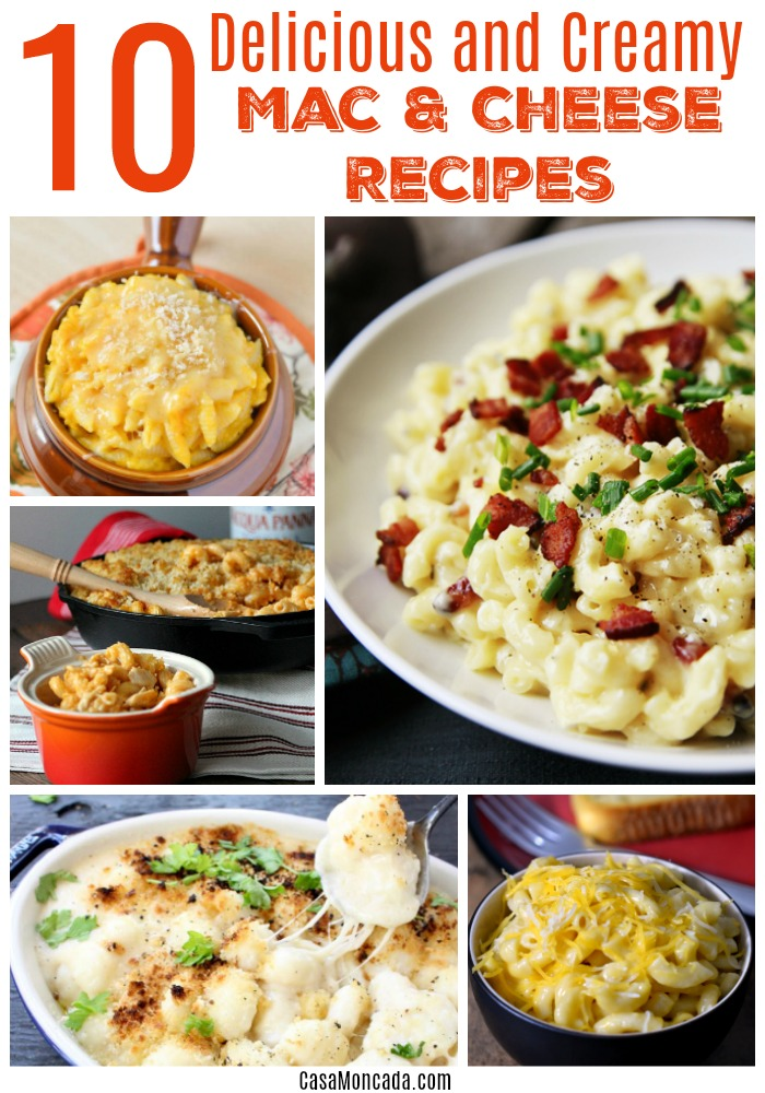 10 delicious and creamy mac n cheese recipes