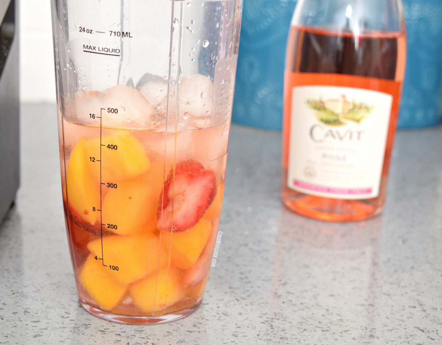 Refreshing tropical fruit Rosé